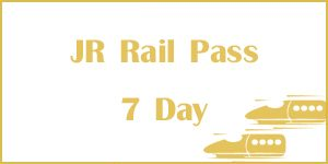 JR Rail Pass 7 Day